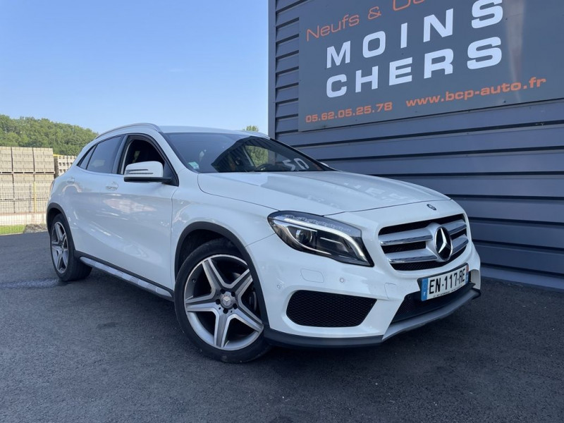 Mercedes-Benz CLASSE GLA (X156) 200 CDI FASCINATION 7G-DCT Diesel BLANC Occasion à vendre