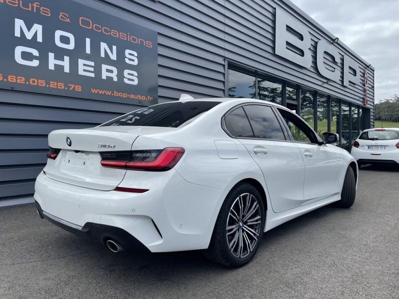 Photo 3 de l'offre de BMW SERIE 3 (G20) 318DA MH 150CH M SPORT à 36990€ chez BCP Automobiles