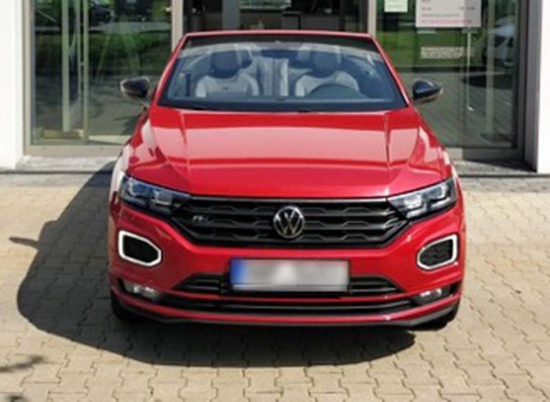 Volkswagen T-ROC CABRIOLET 1.5 TSI EVO 150CH R-LINE DSG7 Essence ROUGE ELIXIR Occasion à vendre