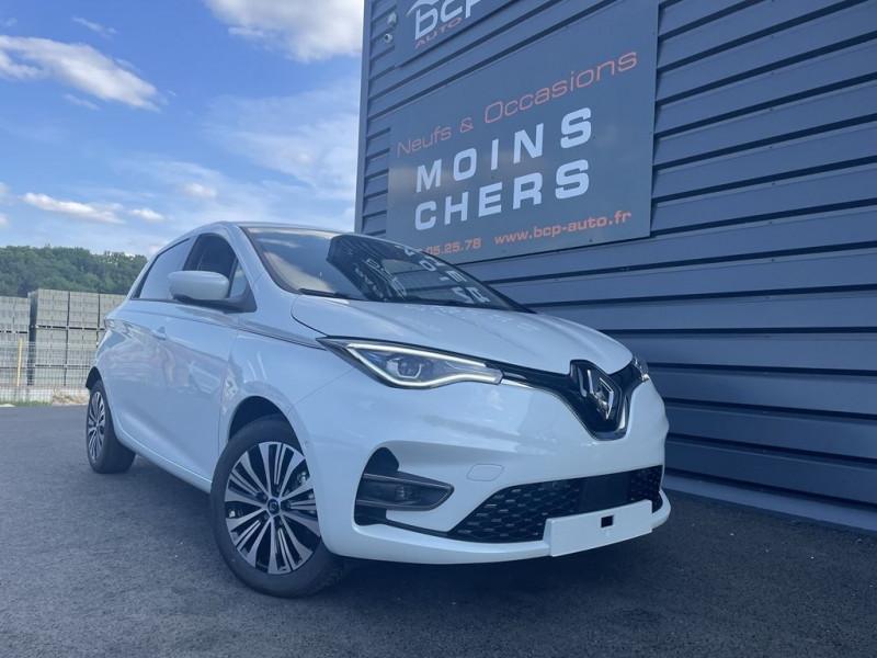 Renault ZOE INTENS CHARGE NORMALE R135 ACHAT INTEGRAL - 20 Electrique BLANC QUARTZ Occasion à vendre