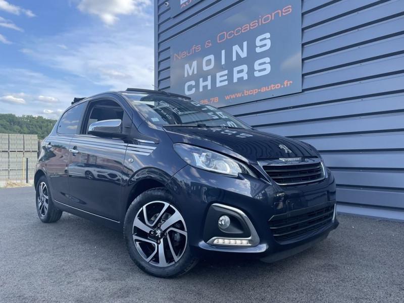 Peugeot 108 1.2 PURETECH ALLURE TOP 5P Essence BLEU FONCE Occasion à vendre