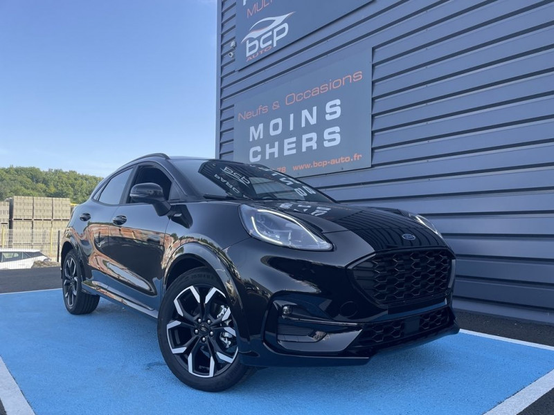 Ford PUMA 1.0 ECOBOOST 125CH MHEV ST-LINE X 6CV Essence NOIR Occasion à vendre