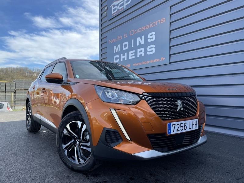 Peugeot 2008 1.5 BLUEHDI 100CH S&S ALLURE Diesel ORANGE FUSION Occasion à vendre