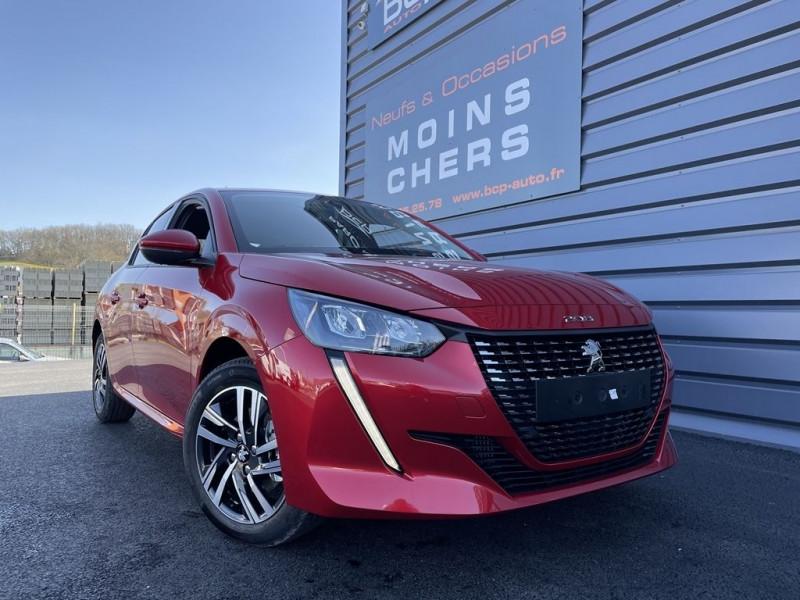 Peugeot 208 1.5 BLUEHDI 100CH S&S ALLURE Diesel ROUGE ELIXIR Occasion à vendre