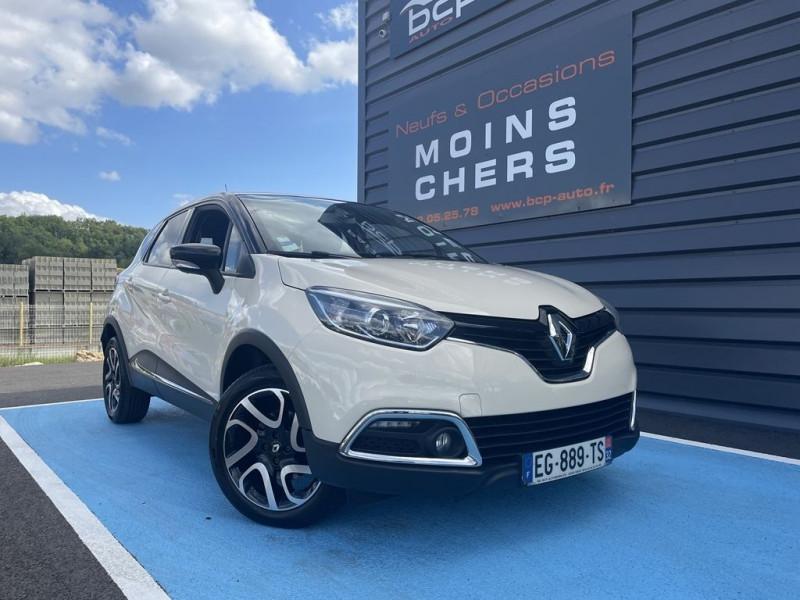 Renault CAPTUR 1.5 DCI 90CH STOP&START ENERGY INTENS ECO² EURO6 2016 Diesel IVOIRE / NOIR Occasion à vendre