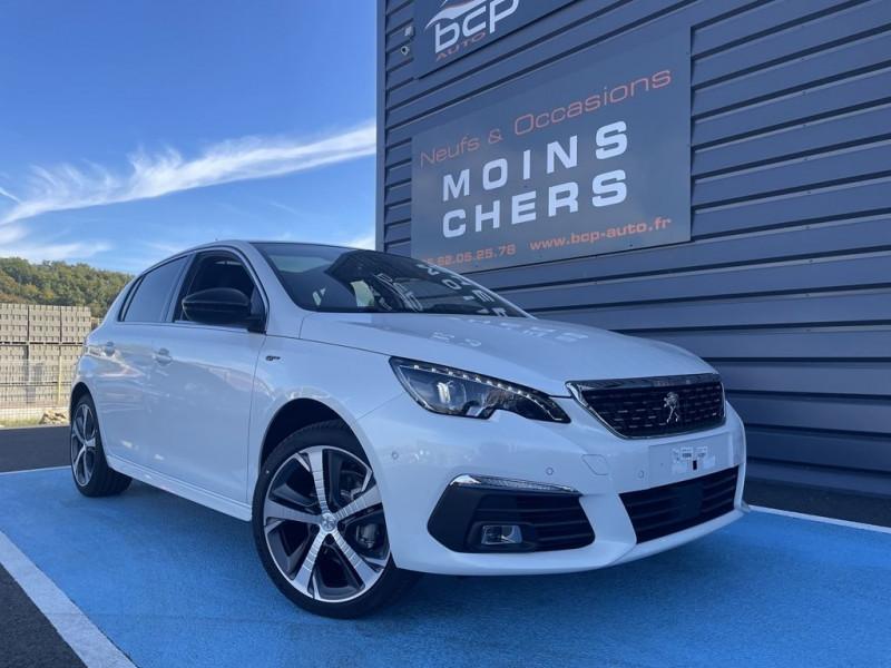 Peugeot 308 1.5 BLUEHDI 130CH S&S GT EAT8 Diesel BLANC NACRE Occasion à vendre