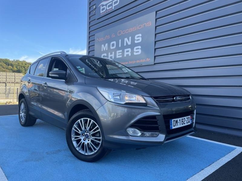 Ford KUGA 2.0 TDCI 115CH FAP TITANIUM Diesel GRIS FONCE Occasion à vendre