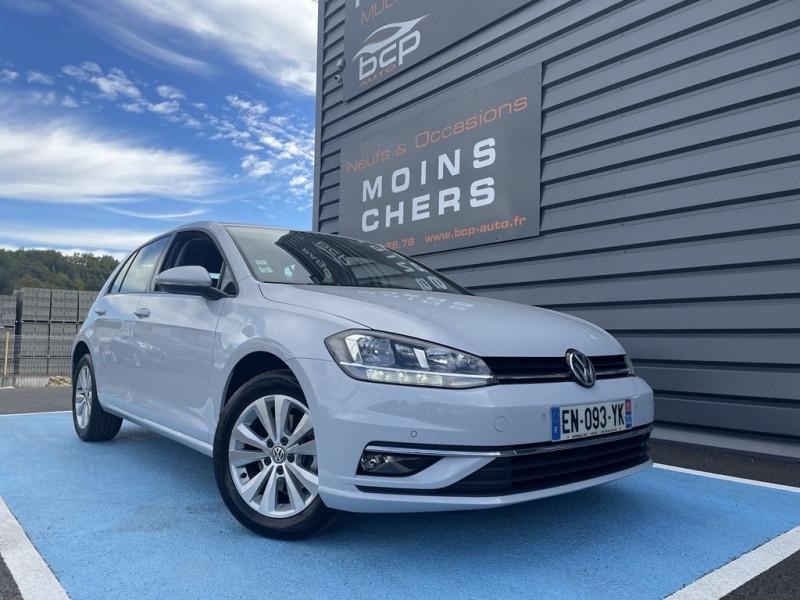 Volkswagen GOLF VII 1.6 TDI 115CH BLUEMOTION TECHNOLOGY FAP CONFORTLINE 5P Diesel BLANC  Occasion à vendre