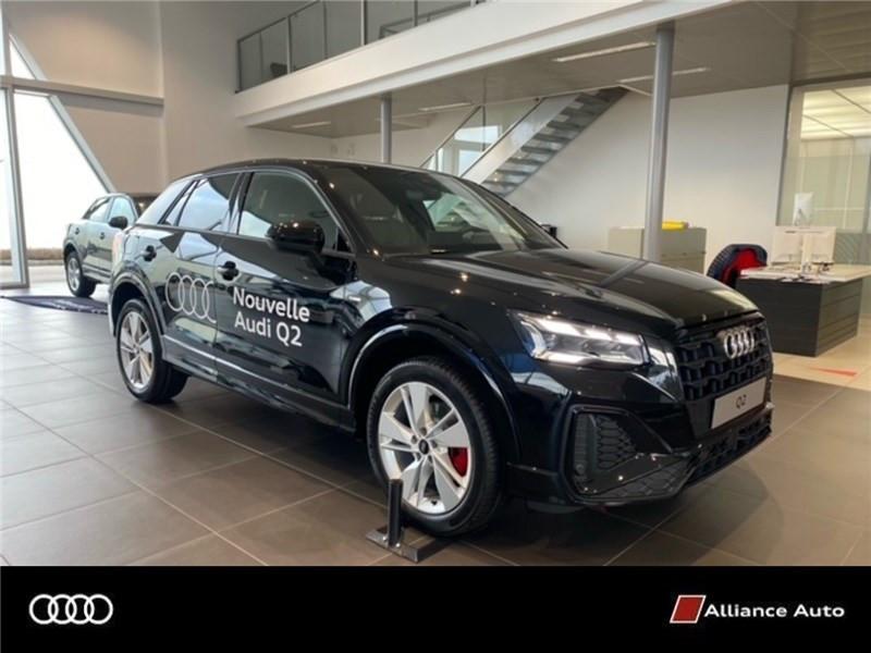 Photo 1 de l'offre de AUDI Q2 35 TFSI 150 S TRONIC 7 à 42335€ chez Alliance Auto – Audi Morlaix