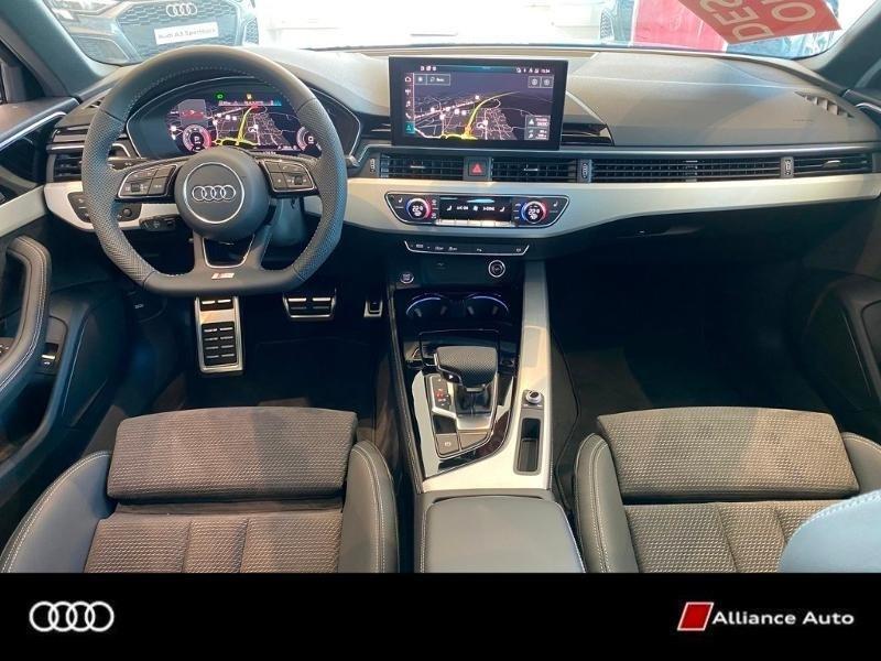 Photo 2 de l'offre de AUDI A4 40 TFSI 190 S TRONIC 7 à 49900€ chez Alliance Auto – Audi Morlaix
