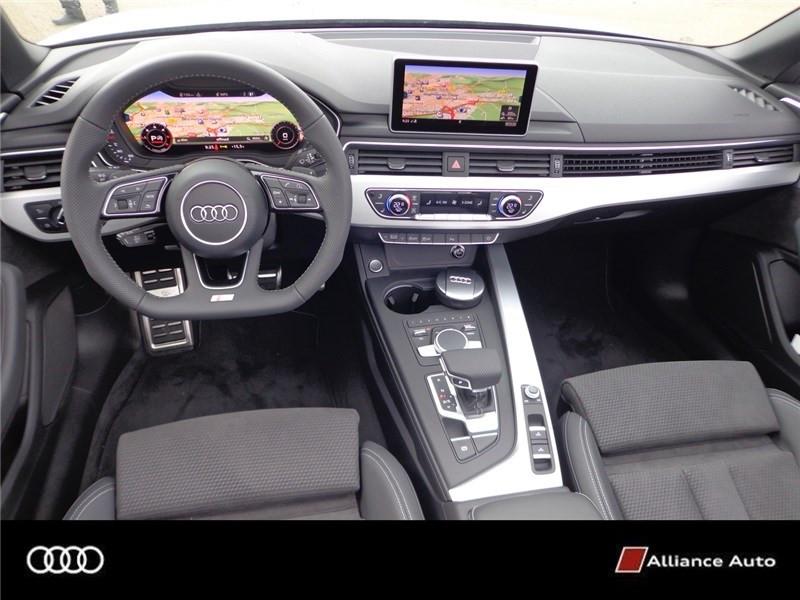 Photo 6 de l'offre de AUDI A5 2.0 TDI 190 S TRONIC 7 à 48990€ chez Alliance Auto – Audi Morlaix
