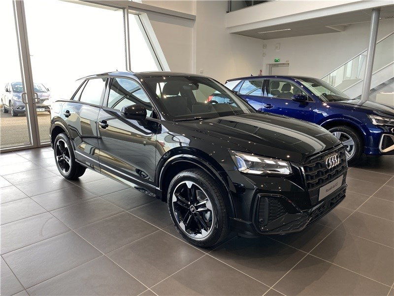 Audi Q2 30 TDI 116 S TRONIC 7 Diesel NOIR MYTHIC METALISE Occasion à vendre