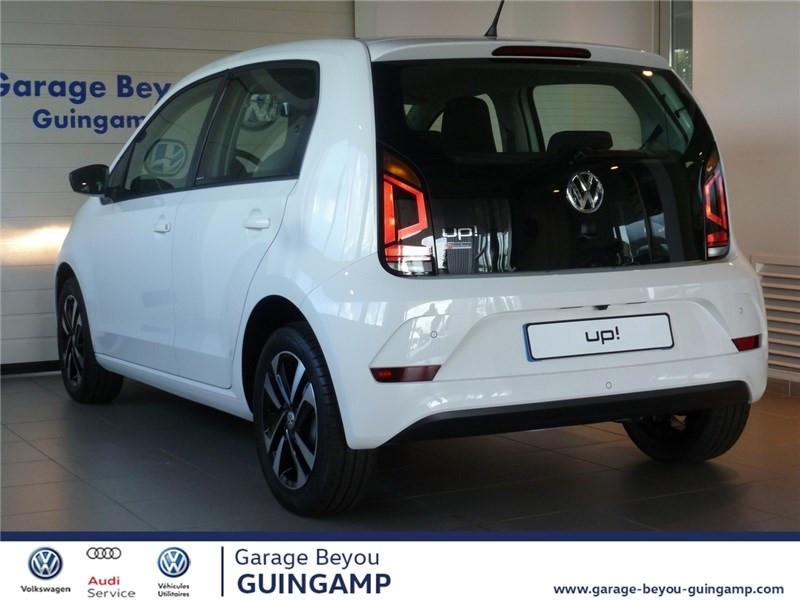 Photo 3 de l'offre de VOLKSWAGEN UP 1.0 75 BLUEMOTION TECHNOLOGY BVM5 à 9990€ chez Garage Beyou - Volkswagen Guingamp