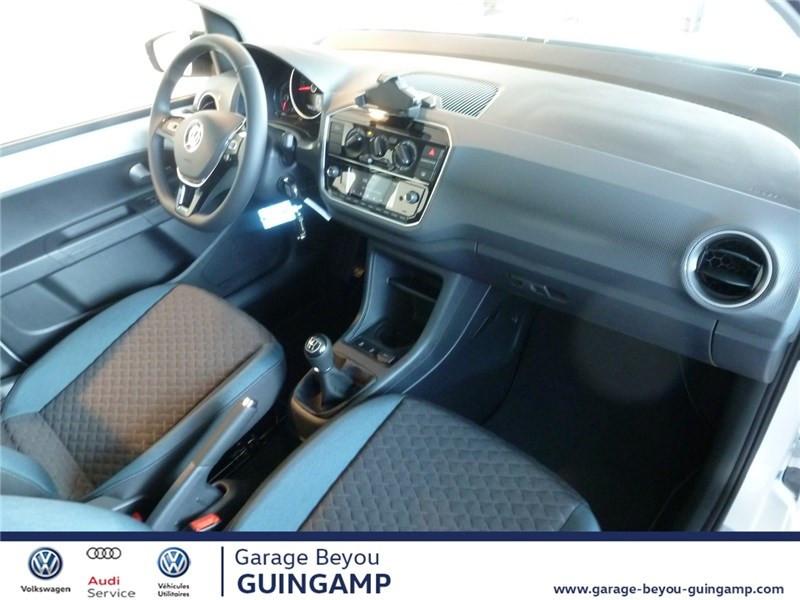 Photo 5 de l'offre de VOLKSWAGEN UP 1.0 75 BLUEMOTION TECHNOLOGY BVM5 à 9990€ chez Garage Beyou - Volkswagen Guingamp
