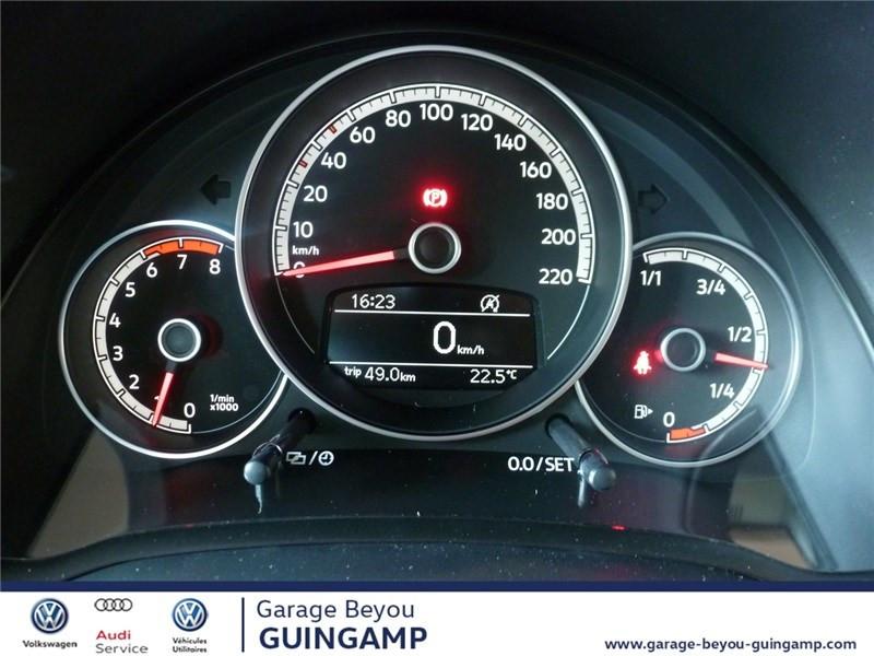 Photo 7 de l'offre de VOLKSWAGEN UP 1.0 75 BLUEMOTION TECHNOLOGY BVM5 à 9990€ chez Garage Beyou - Volkswagen Guingamp