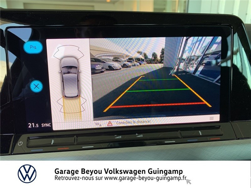 Photo 14 de l'offre de VOLKSWAGEN GOLF 1.5 TSI ACT OPF 130 BVM6 à 30295€ chez Garage Beyou - Volkswagen Guingamp