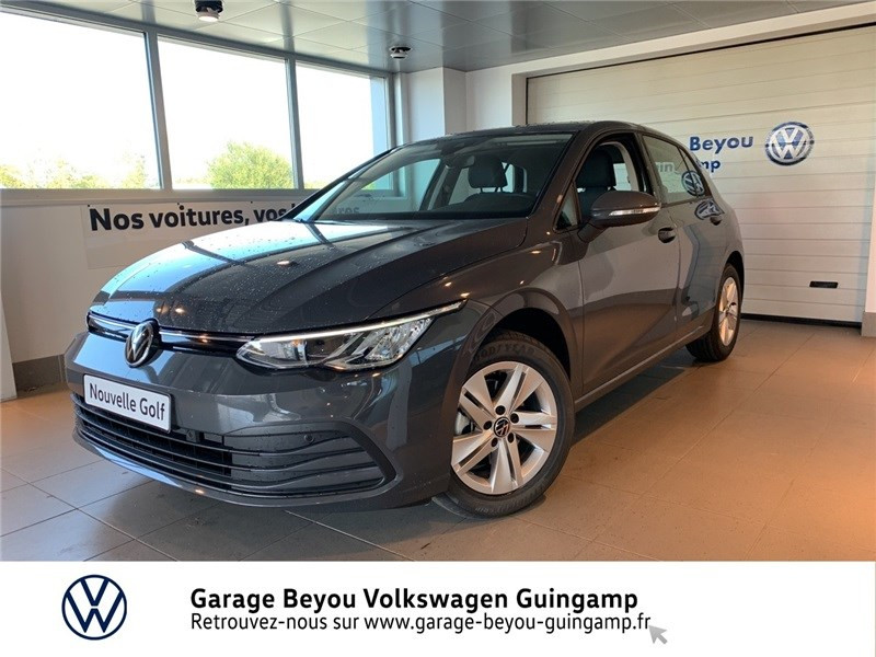 Photo 2 de l'offre de VOLKSWAGEN GOLF 1.5 TSI ACT OPF 130 BVM6 à 30295€ chez Garage Beyou - Volkswagen Guingamp
