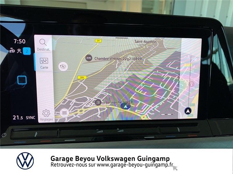 Photo 8 de l'offre de VOLKSWAGEN GOLF 1.5 TSI ACT OPF 130 BVM6 à 30295€ chez Garage Beyou - Volkswagen Guingamp