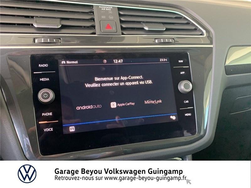 Photo 15 de l'offre de VOLKSWAGEN TIGUAN 2.0 TDI 150 DSG7 à 37490€ chez Garage Beyou - Volkswagen Guingamp