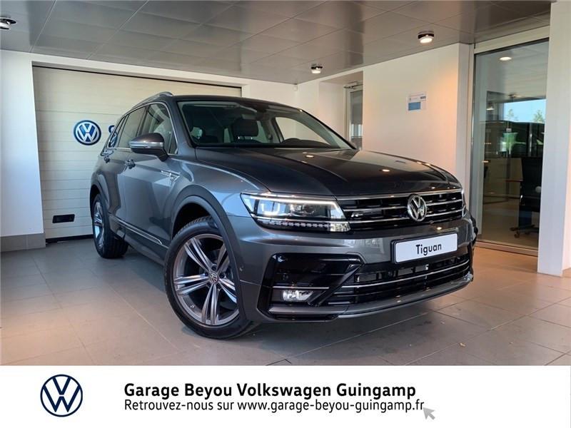 Photo 1 de l'offre de VOLKSWAGEN TIGUAN 2.0 TDI 150 DSG7 à 37490€ chez Garage Beyou - Volkswagen Guingamp