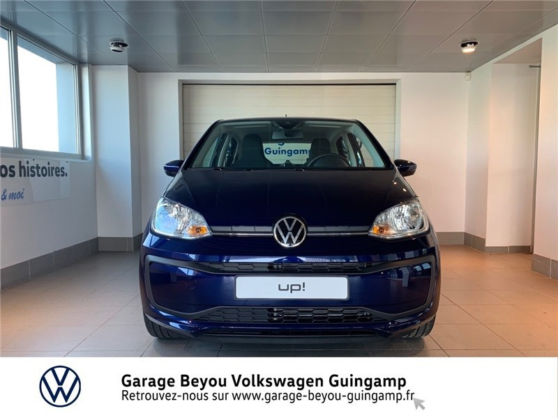 Photo 5 de l'offre de VOLKSWAGEN UP 1.0 60 BLUEMOTION TECHNOLOGY BVM5 à 13590€ chez Garage Beyou - Volkswagen Guingamp