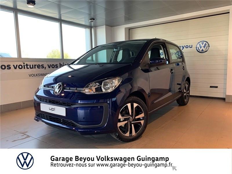 Photo 2 de l'offre de VOLKSWAGEN UP 1.0 60 BLUEMOTION TECHNOLOGY BVM5 à 13590€ chez Garage Beyou - Volkswagen Guingamp