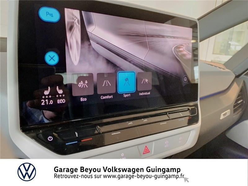 Photo 16 de l'offre de VOLKSWAGEN ID.3 204 CH à 40990€ chez Garage Beyou - Volkswagen Guingamp