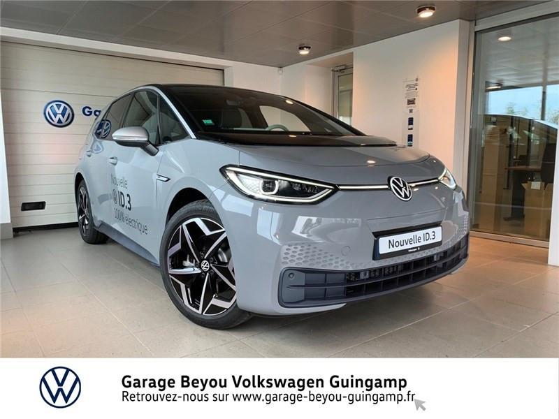 Volkswagen ID.3 204 CH Courant électrique Gris lunaire Toit Noir Occasion à vendre