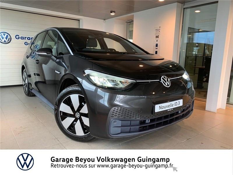 Volkswagen ID.3 145 CH Courant électrique Gris Manganese Toit Noir Occasion à vendre
