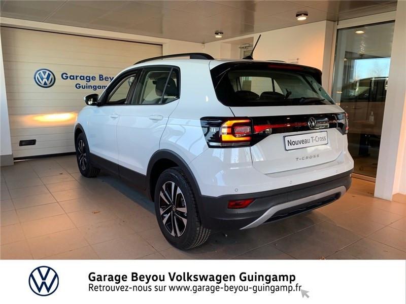 Photo 3 de l'offre de VOLKSWAGEN T-CROSS 1.0 TSI 110 START/STOP DSG7 à 23990€ chez Garage Beyou - Volkswagen Guingamp