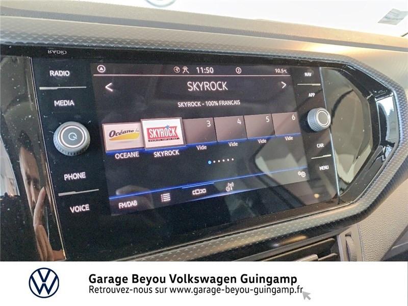 Photo 8 de l'offre de VOLKSWAGEN T-CROSS 1.0 TSI 110 START/STOP DSG7 à 23990€ chez Garage Beyou - Volkswagen Guingamp