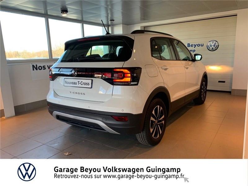 Photo 4 de l'offre de VOLKSWAGEN T-CROSS 1.0 TSI 110 START/STOP DSG7 à 23990€ chez Garage Beyou - Volkswagen Guingamp