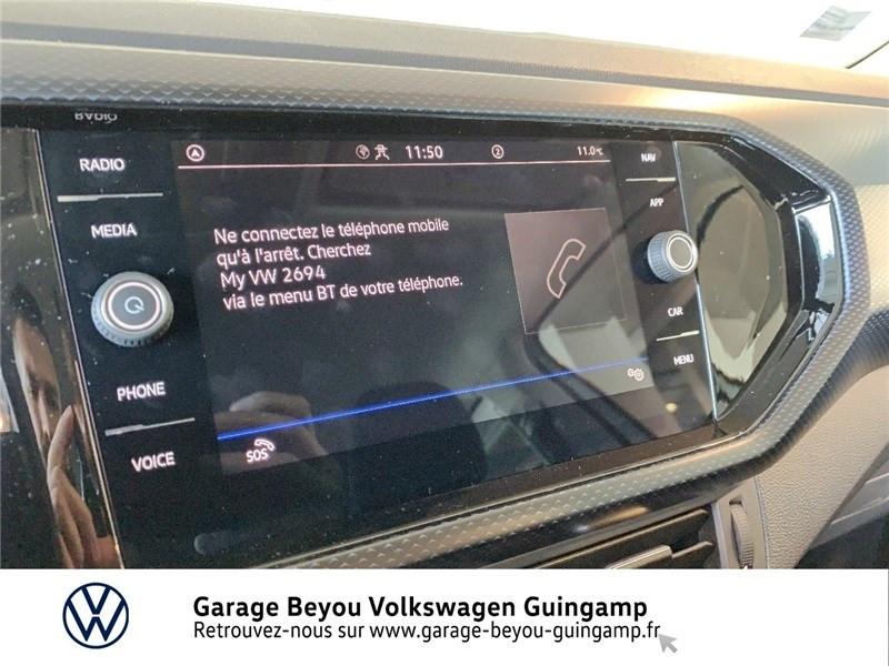 Photo 14 de l'offre de VOLKSWAGEN T-CROSS 1.0 TSI 110 START/STOP DSG7 à 23990€ chez Garage Beyou - Volkswagen Guingamp