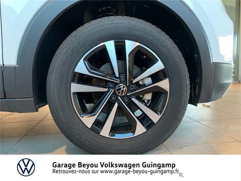 Photo 13 de l'offre de VOLKSWAGEN T-CROSS 1.0 TSI 110 START/STOP DSG7 à 23990€ chez Garage Beyou - Volkswagen Guingamp