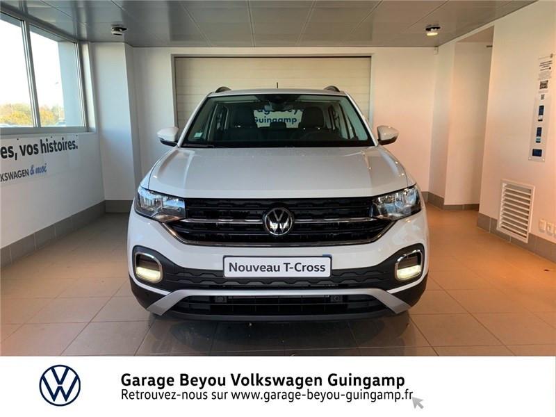 Photo 5 de l'offre de VOLKSWAGEN T-CROSS 1.0 TSI 110 START/STOP DSG7 à 23990€ chez Garage Beyou - Volkswagen Guingamp