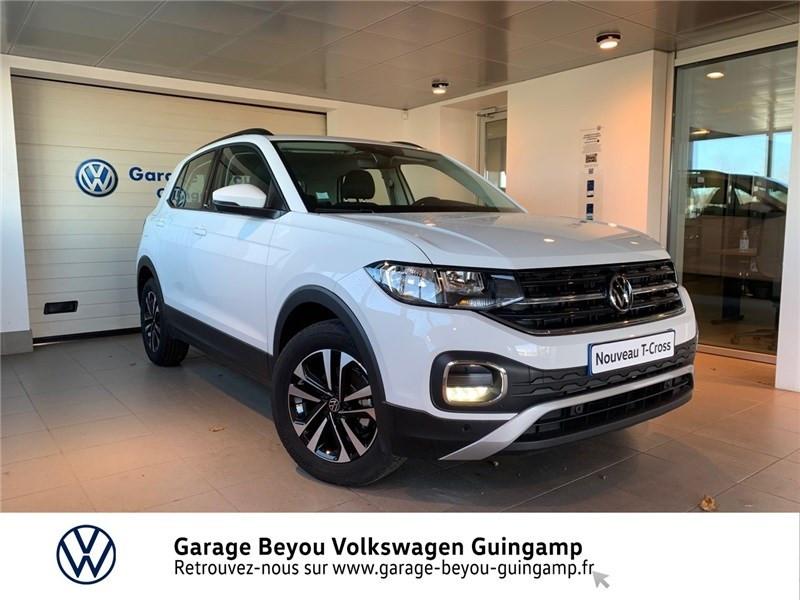 Photo 1 de l'offre de VOLKSWAGEN T-CROSS 1.0 TSI 110 START/STOP DSG7 à 23990€ chez Garage Beyou - Volkswagen Guingamp