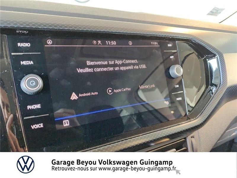 Photo 15 de l'offre de VOLKSWAGEN T-CROSS 1.0 TSI 110 START/STOP DSG7 à 23990€ chez Garage Beyou - Volkswagen Guingamp
