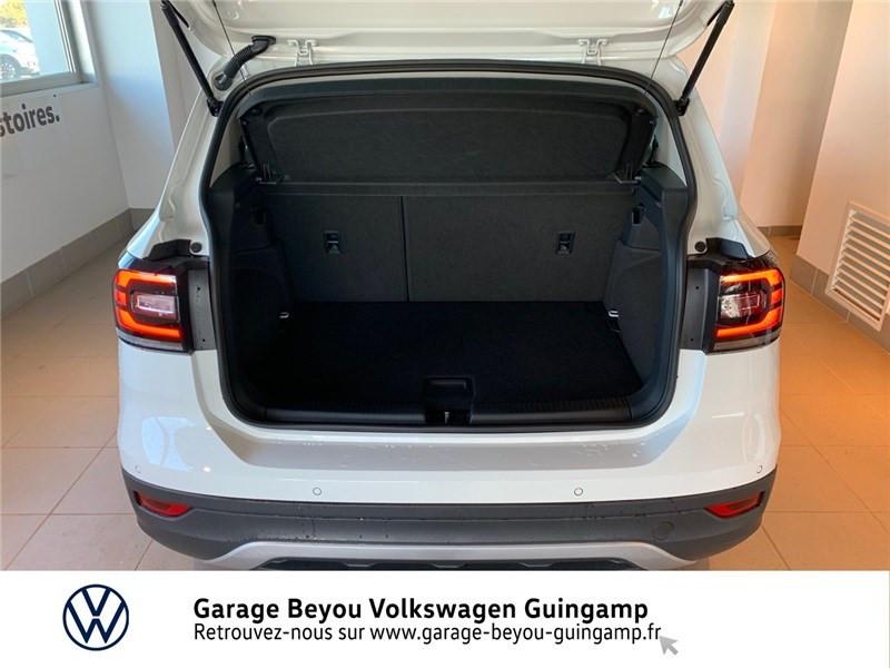 Photo 12 de l'offre de VOLKSWAGEN T-CROSS 1.0 TSI 110 START/STOP DSG7 à 23990€ chez Garage Beyou - Volkswagen Guingamp