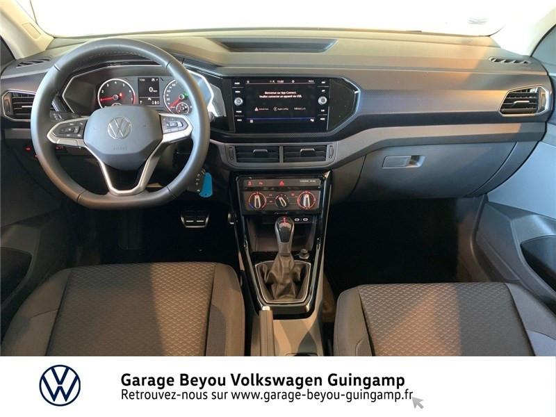 Photo 6 de l'offre de VOLKSWAGEN T-CROSS 1.0 TSI 110 START/STOP DSG7 à 23990€ chez Garage Beyou - Volkswagen Guingamp