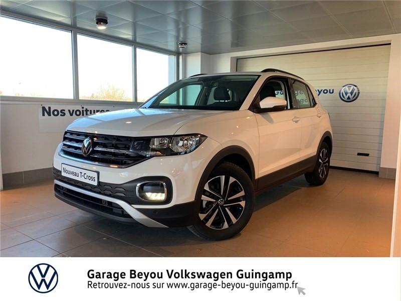 Photo 2 de l'offre de VOLKSWAGEN T-CROSS 1.0 TSI 110 START/STOP DSG7 à 23990€ chez Garage Beyou - Volkswagen Guingamp