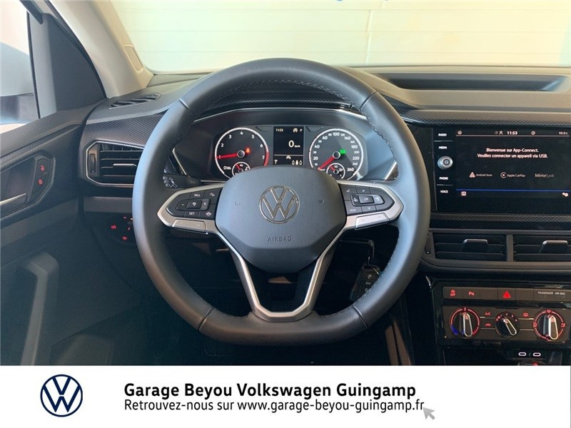 Photo 7 de l'offre de VOLKSWAGEN T-CROSS 1.0 TSI 110 START/STOP DSG7 à 23990€ chez Garage Beyou - Volkswagen Guingamp