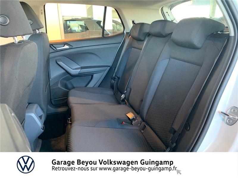 Photo 11 de l'offre de VOLKSWAGEN T-CROSS 1.0 TSI 110 START/STOP DSG7 à 23990€ chez Garage Beyou - Volkswagen Guingamp
