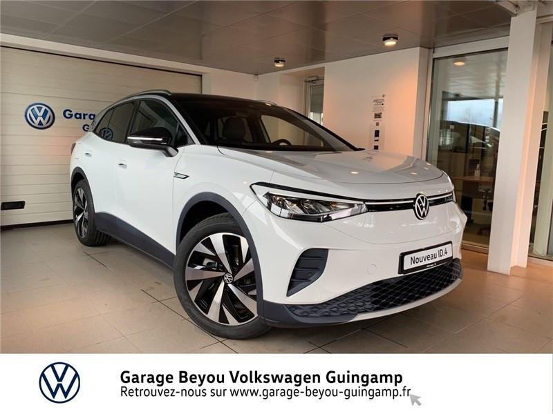 Volkswagen ID.4 204 CH Courant électrique Blanc Glacier Occasion à vendre