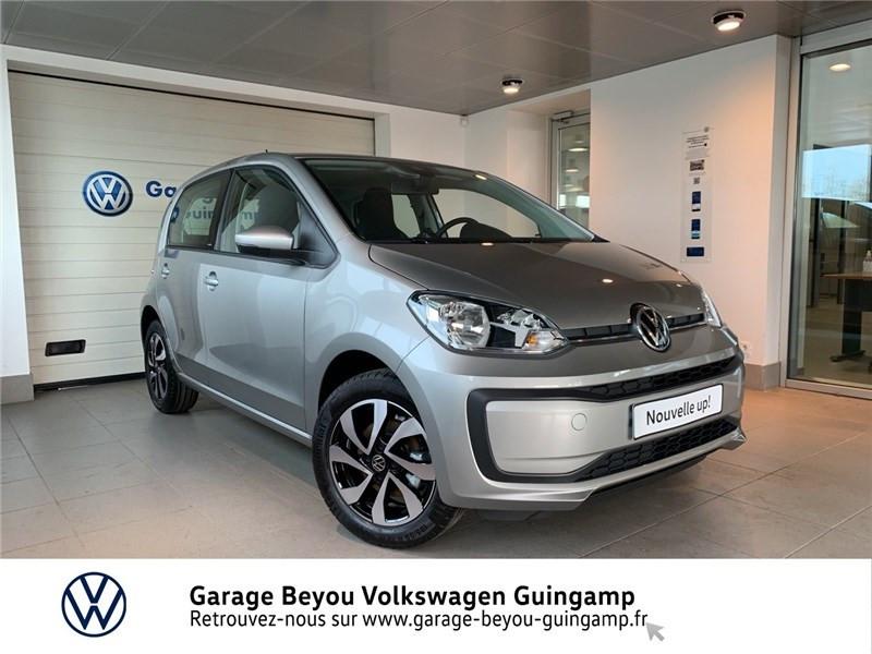Volkswagen UP 1.0 65 BLUEMOTION TECHNOLOGY BVM5 Essence sans plomb GRIS TUNGSTEN METALLISE Occasion à vendre
