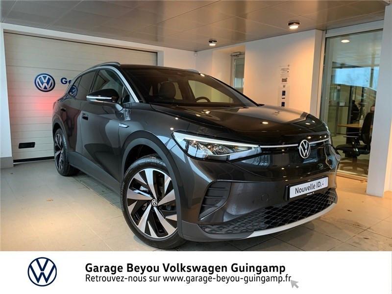 Volkswagen ID.4 204 CH Courant électrique Gris Manganese Toit Noir Occasion à vendre