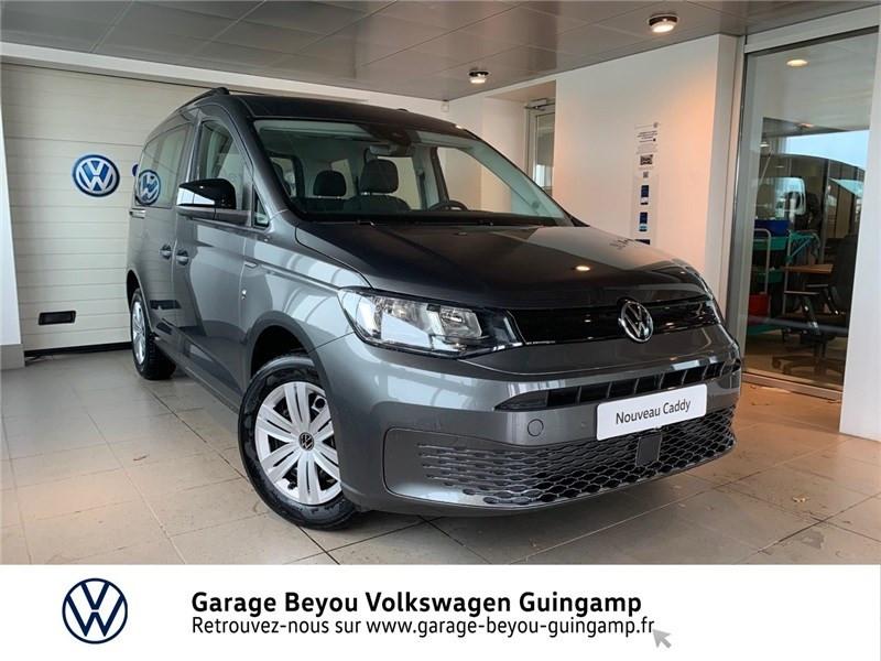 Photo 1 de l'offre de VOLKSWAGEN CADDY 2.0 TDI 122 BVM6 à 31335€ chez Garage Beyou - Volkswagen Guingamp