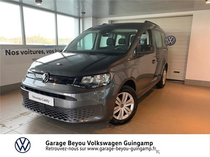 Photo 4 de l'offre de VOLKSWAGEN CADDY 2.0 TDI 122 BVM6 à 31335€ chez Garage Beyou - Volkswagen Guingamp