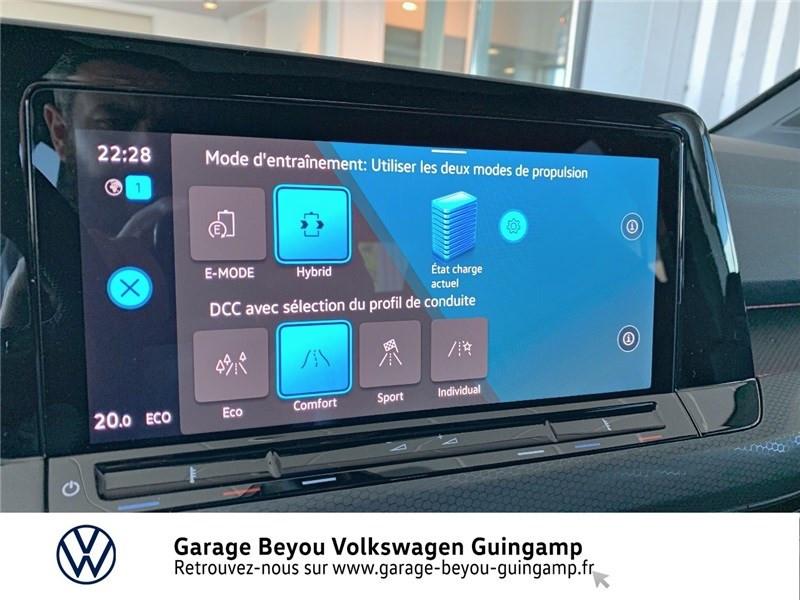 Photo 16 de l'offre de VOLKSWAGEN GOLF 1.4 HYBRID RECHARGEABLE OPF 245 DSG6 à 48980€ chez Garage Beyou - Volkswagen Guingamp