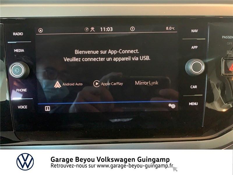Photo 8 de l'offre de VOLKSWAGEN POLO 1.0 TSI 95 S&S BVM5 à 16990€ chez Garage Beyou - Volkswagen Guingamp