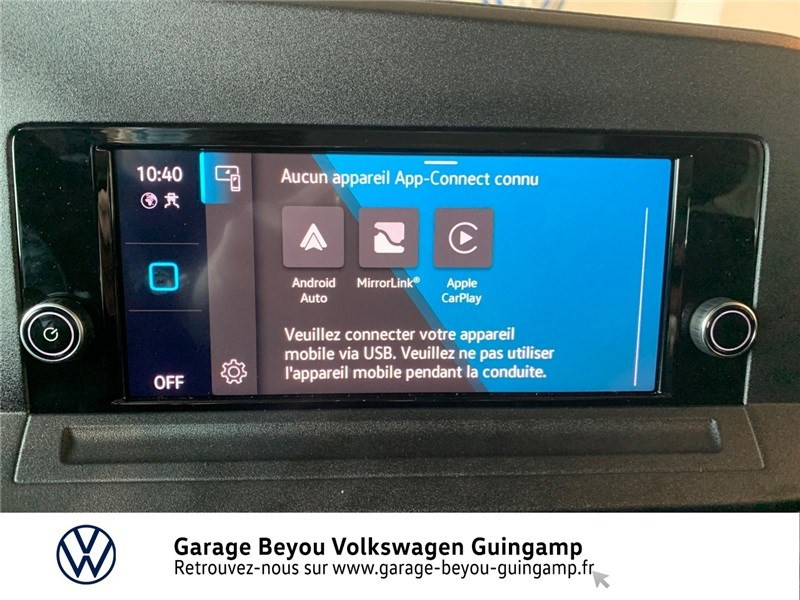 Photo 8 de l'offre de VOLKSWAGEN CADDY 2.0 TDI 122 BVM6 à 31335€ chez Garage Beyou - Volkswagen Guingamp
